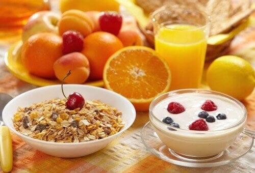 Vad är en enkel och mycket hälsosam frukost?