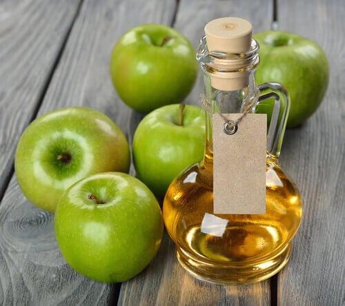 Skönhetsbehandlingar med äppelcidervinäger