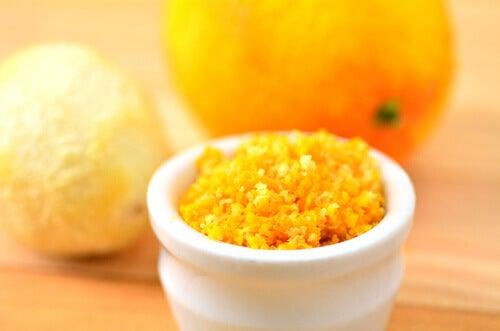 Vad man kan göra med citrusskal