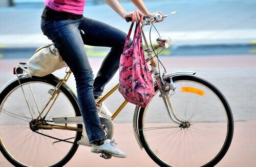 Ta en cykeltur om dagen