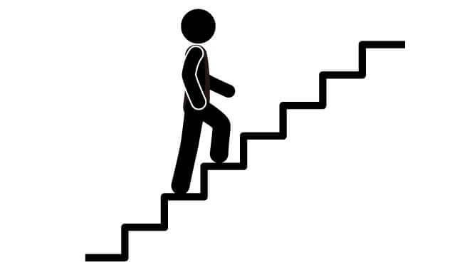Gå i trappor