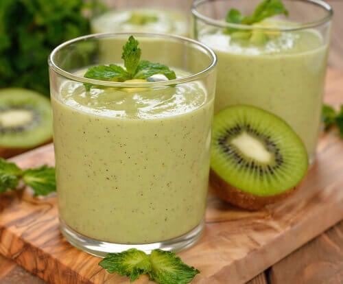 Gröna drycker: utmärkta vid fettförbränning