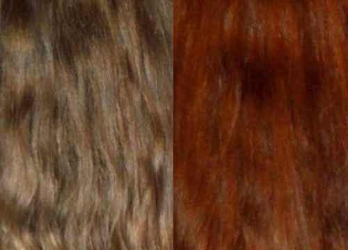 Färga håret med naturliga och effektiva extrakt