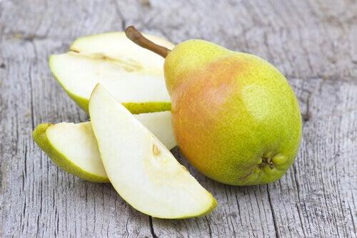 Varför ska man äta ett päron om dagen?