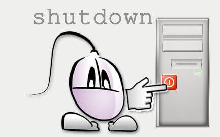 Stäng av datorn