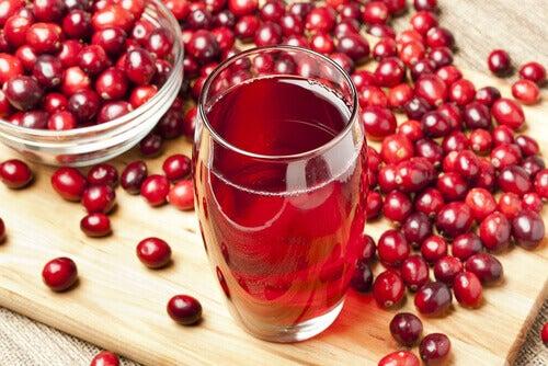 urinvägsinfektion tranbärsjuice hur mycket