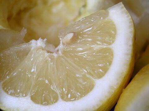 En citronklyfta