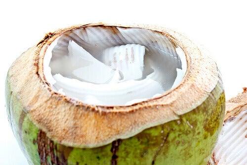 Kokosvatten är mycket nyttigt