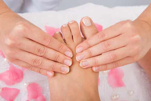 Naturliga huskurer för välmående fötter