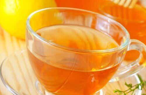 Vitt te kan användas för viktnedgång
