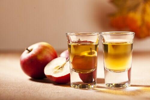 Äppelcidervinäger är bra mot onykomykos