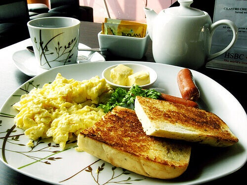 Ät en bra frukost för att få energi
