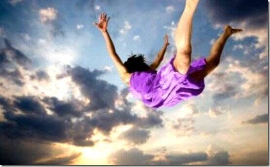 Drömmar om att man faller