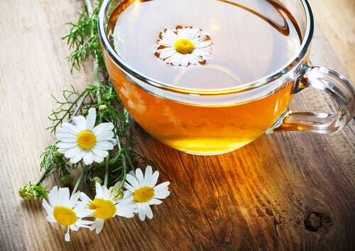 Te på kamomill