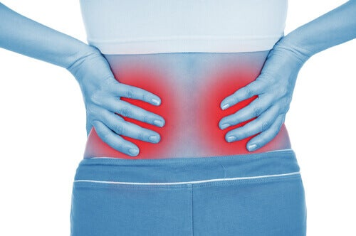kramp i ryggen njurar