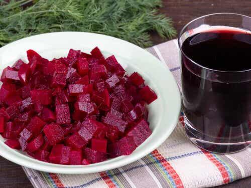 Hälsosamma och goda recept på rödbetor