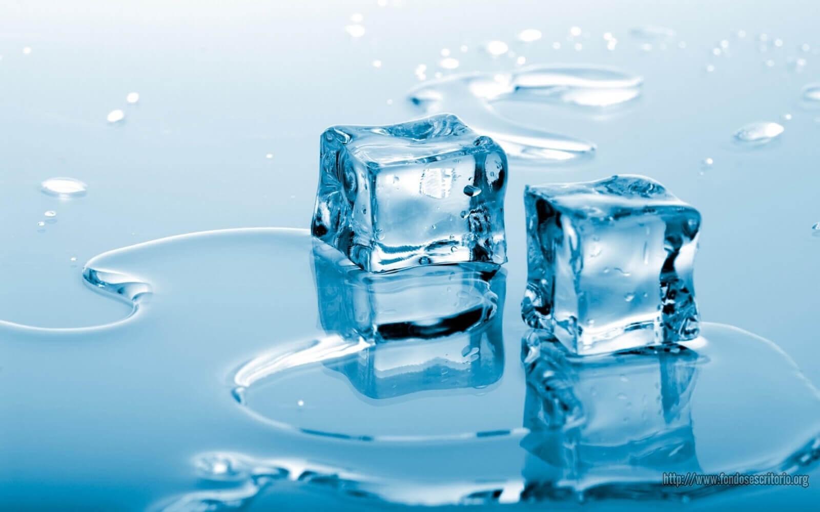 Smältande-is