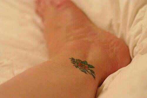 Tatuerad fotled
