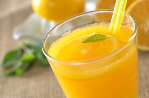 Blanda apelsin och linfröolja