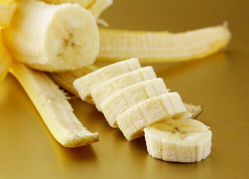 Skivade bananer