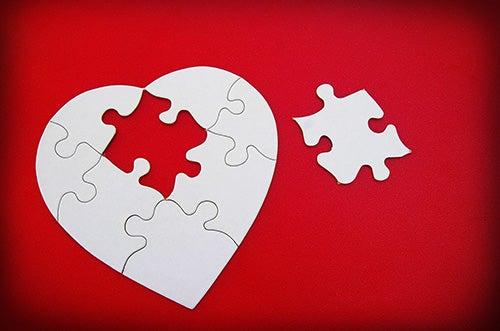 Brustet hjärta