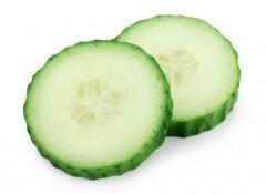 gurka påsar under ögonen