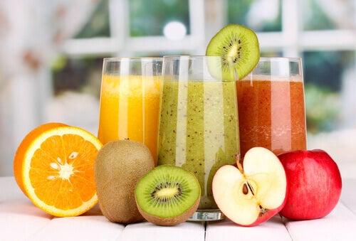 Detox med juice och soppor