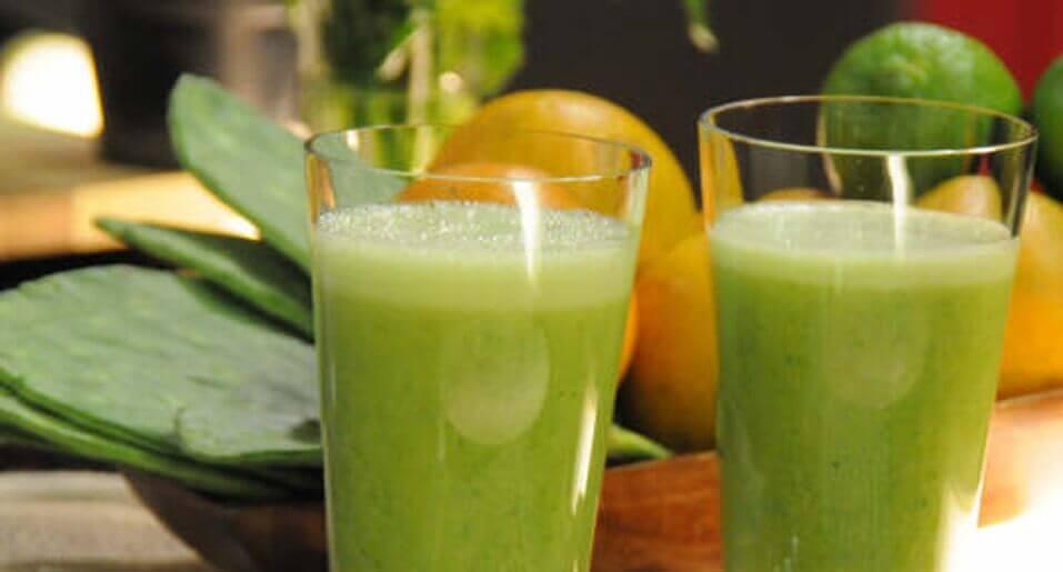 hälsosamma smoothies med päron