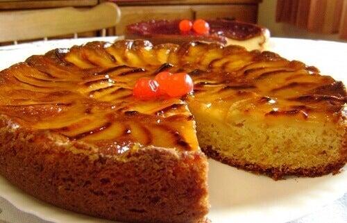 Recept på utsökt äppelkaka för hela familjen