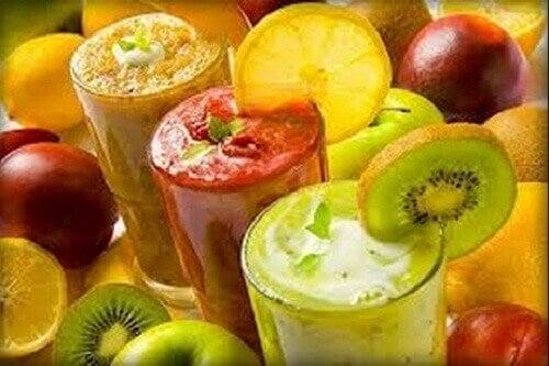 Tappa vikt genom att dricka smoothies varje vecka
