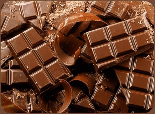 Undvik choklad