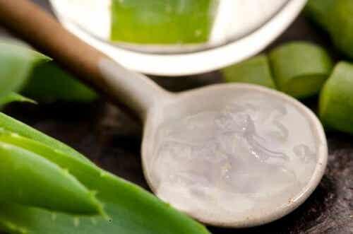 Mask mot åderbråck med aloe vera & äppelcidervinäger