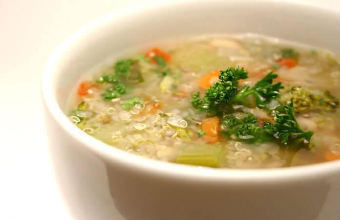 Gör en soppa mot förkylningar