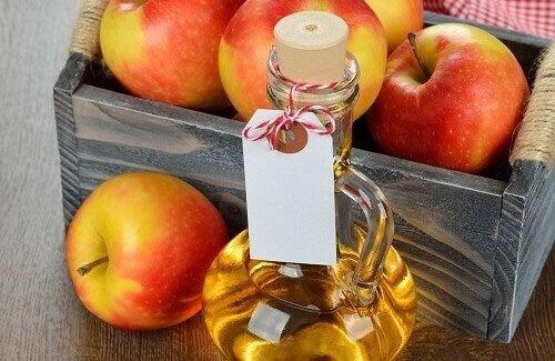 Nya användningar för äppelcidervinäger