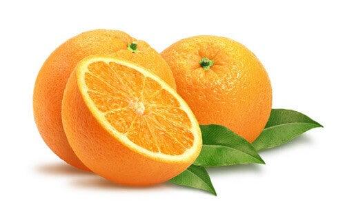 Gör ett pulver av apelsinskal