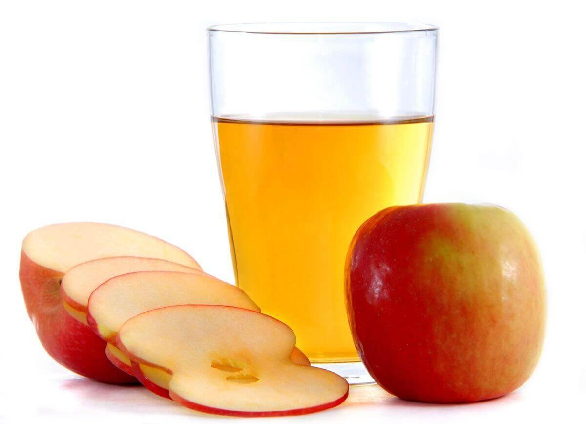 Äppelcidervinäger är bra för matsmältningssystemet