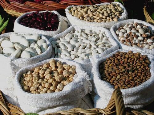 Baljväxter innehåller mycket näring