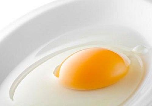hårkräm med äggula