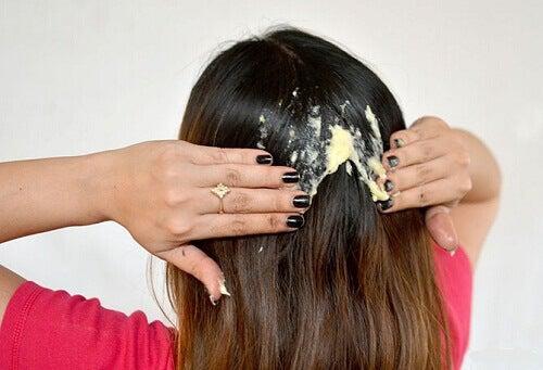 skadat hår