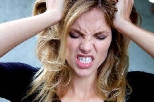 Irritation, ångest och depression