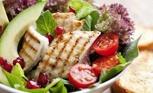 Den japanska kosten: sund asiatisk mat för viktminskning