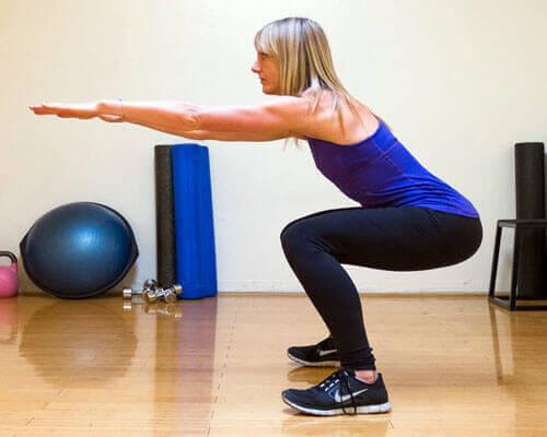 Knäböj formar dina glutealmuskler