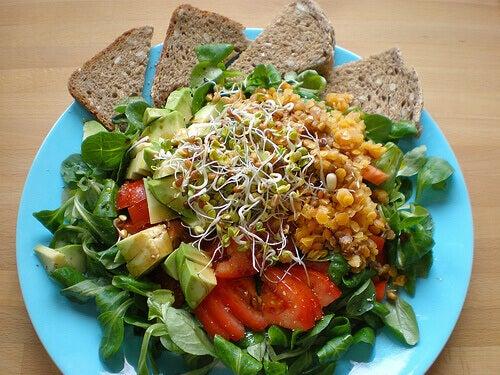 Komplett sallad