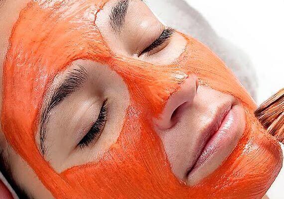 morotsmask för ansiktet