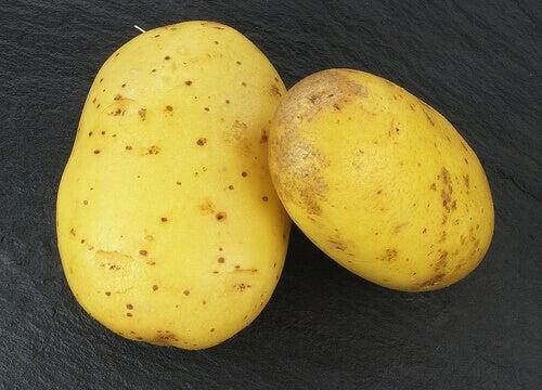 Potatis hör inte hemma i kylskåpet