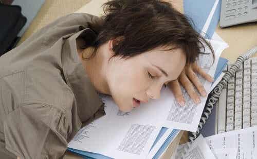 5 problem som orsakas av dålig sömn