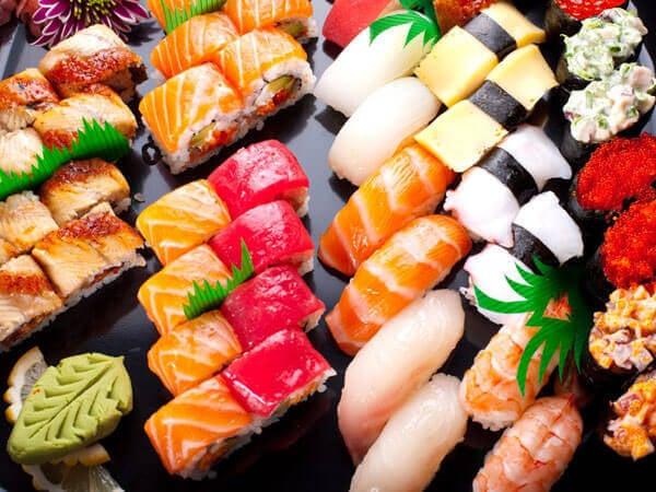 sushi till lunch?