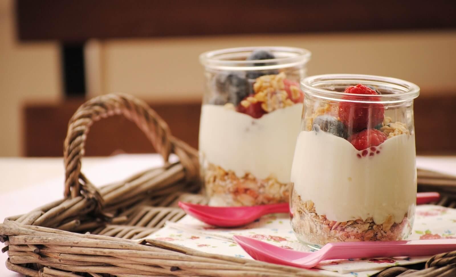 Yoghurt till frukost