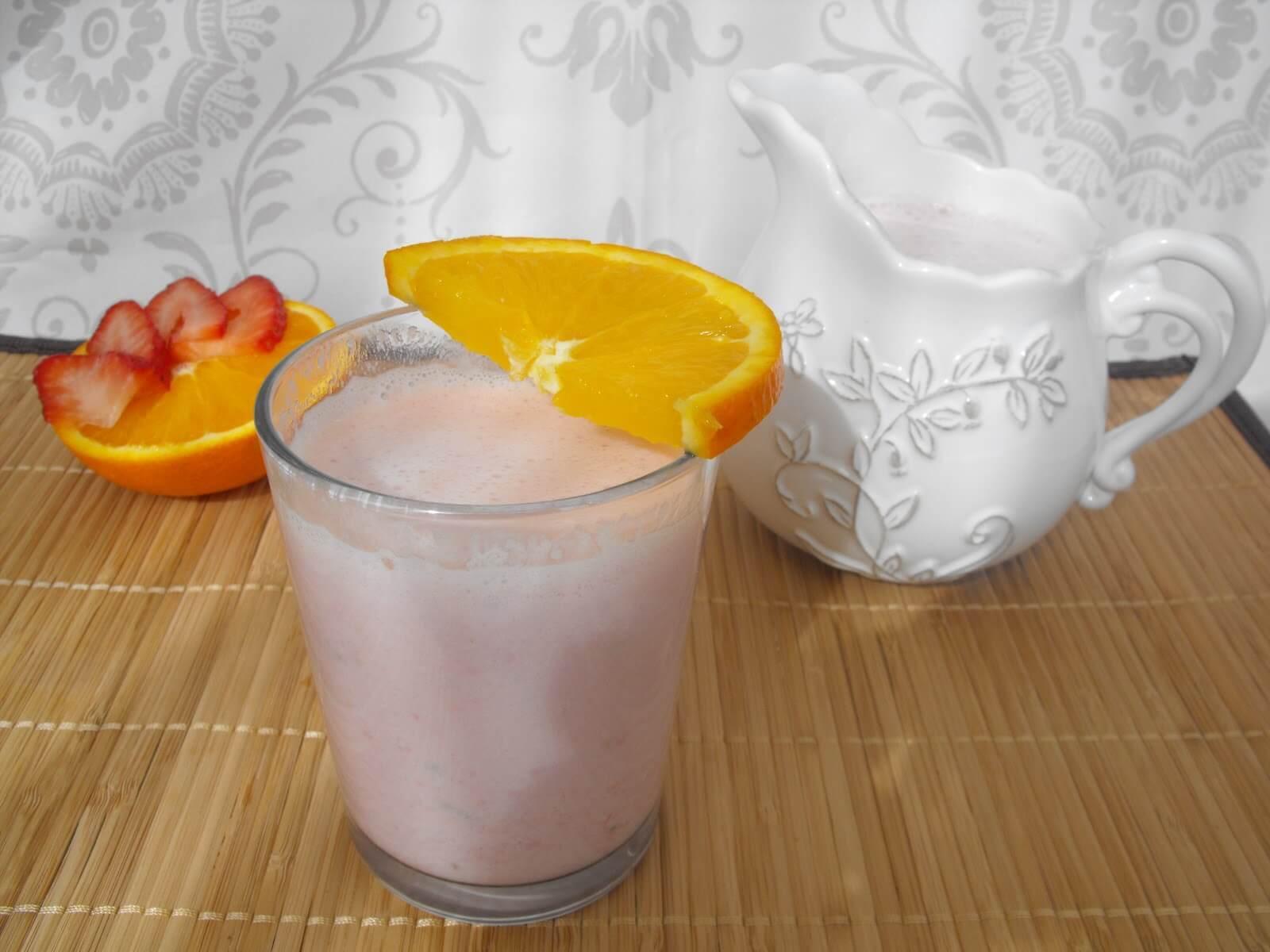 jordgubb smoothie