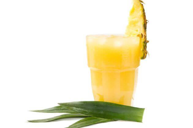 ananasjuice med aloe